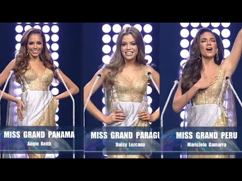 Miss Grand. Panama Paraguay and Peru 2020