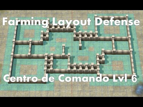 Call of Duty: Heroes - Command Center Level 6 - Farming Layout ...