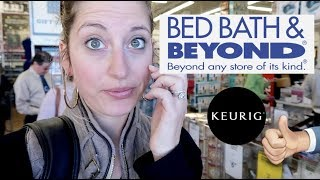 WHY BED BATH AND BEYOND IS THE BEST STORE IN THE ENTIRE UNIVERSE || Life with Jackie family vlog