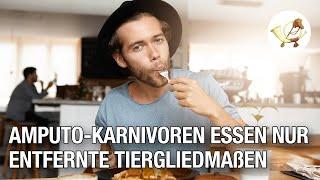 Amputo-Karnivoren essen nur aus medizinischen Gründen entfernte Tiergliedmaßen