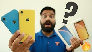 iPhone Xr Unboxing & First Look + GIVEAWAY