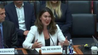 Meltem Demirors Complete Congressional Testimony on Libra & Bitcoin - 07/17/2019