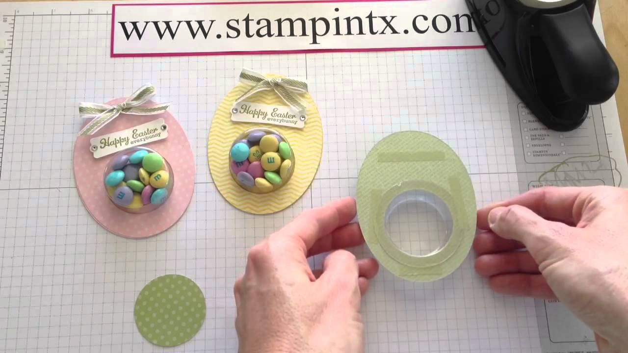 Adorable easter egg treat holders treat cups no longer available adorable easter egg treat holders treat cups no longer available from stampin up negle Choice Image
