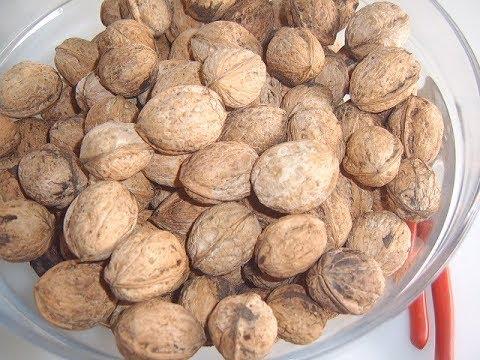 Как высушить орехи