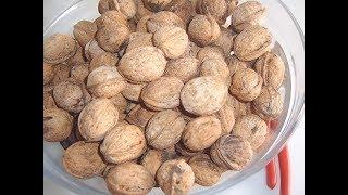 Грецкие орехи, как я их сушу
