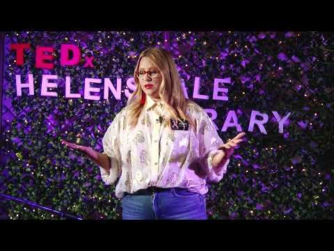 Crafting a creative dream, into a creative reality   Elska .   TEDxHelensvaleLibrary