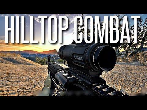 HILLTOP 40 vs 40 COMBAT - Squad Gameplay
