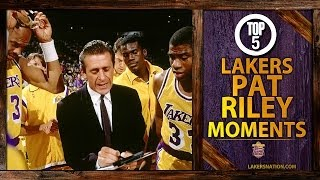 Pat Riley's Top 5 Moments In Lakers History