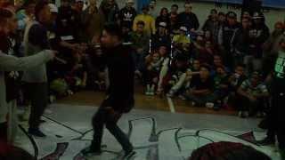 Reyes del Asfalto 2013 Rythm Invade vs Unik Breakers Semifinal