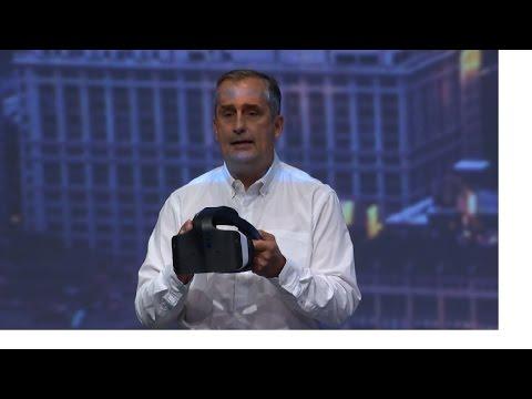 Intel Unveils AIO VR Project Alloy at Intel Developer Forum 2016