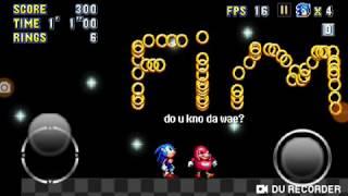 Sonic mania android V7 / Leslie Hillain / InfiniTube