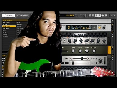AKHIRNYA TERBONGKAR SUDAH settingan guitar rig 5 sound AJIIB..