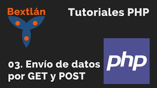 Tutoriales PHP: 3. Envío de datos por GET y POST Mp3