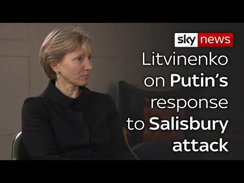 Litvinenko's wife on Salisbury poisoning