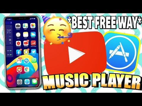 IOS 13: YouTube Video Audio/Music In BACKGROUND + PLAYLISTS Add Songs (NO JAILBREAK) IPhone *BEST*