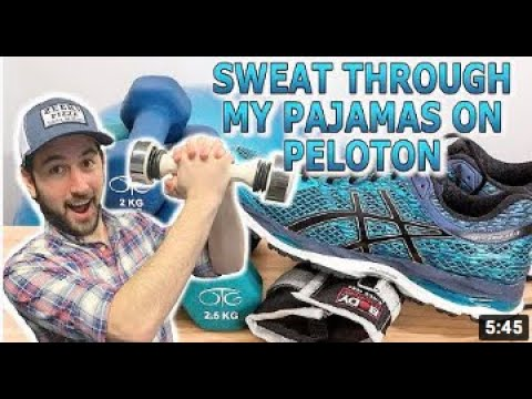 Sweat Through My Pajamas On Peloton | Young Jeffrey's Song of The Week