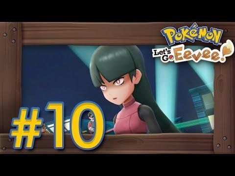 Pokémon Let's Go Pikachu & Eevee: Walkthrough Part 10 - Silph Co. & Safron Gym