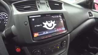 Nissan Sentra, Audiofrog GB60 + GB15.