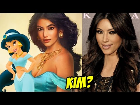 Disney Princesses In Real Life!!! Who does Kim Kardashian and Taylor Swift look like?  #Trend
