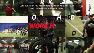 Baseball Team Opener | After Efects Project Files - Videohive template