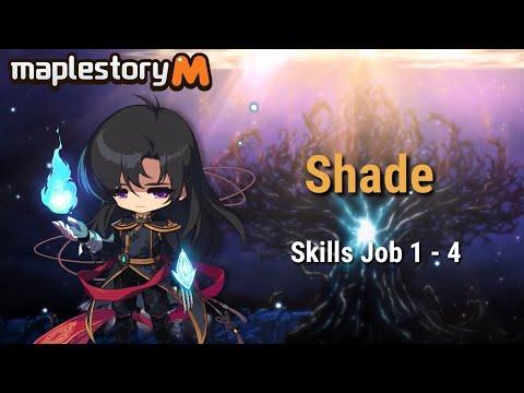 Maplestory M Eunwol(Shade) Skill 1 - 4 Job Preview