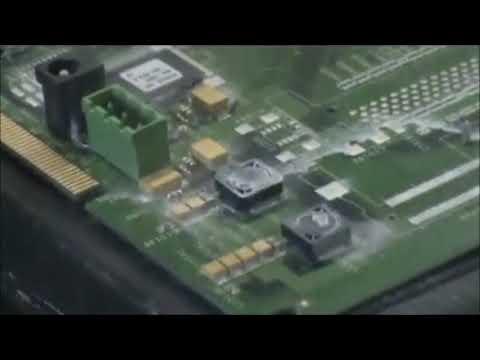 Cold Jet Dry Ice Blasting - Circuit Board Rework