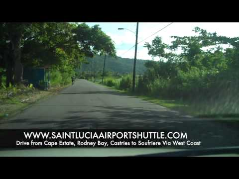 Drive From Rodney Bay Cap Estate and Castries to Soufriere St Lucia2