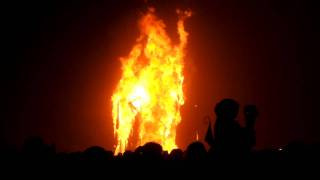 burning man 2011 rites of passage trojan horse pull and burn
