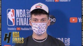 Tyler Herro Postgame Interview - Game 4 | Lakers vs Heat | October 6, 2020 NBA Finals