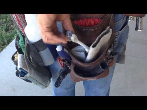 Window Cleaning Tools - Belt Tour