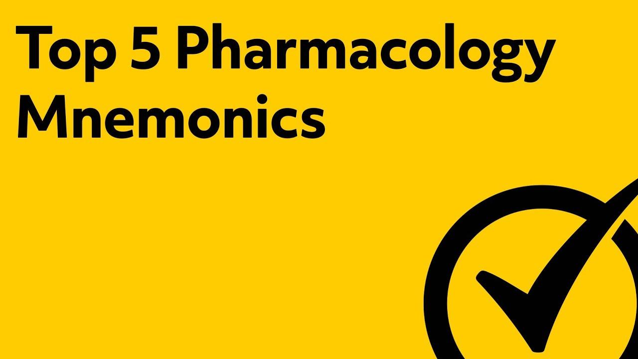 photo about Nclex Cram Sheet Printable referred to as Final 5 NCLEX Pharmacology Research (Mnemonics) - NCLEX Analyze 2019