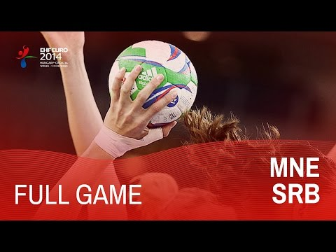 Group D: Montenegro vs Serbia 22:19 | Women's EHF EURO 2014