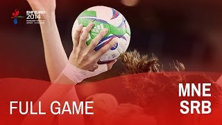Group D: Montenegro vs Serbia 22:19 | Women's EHF EURO 2014