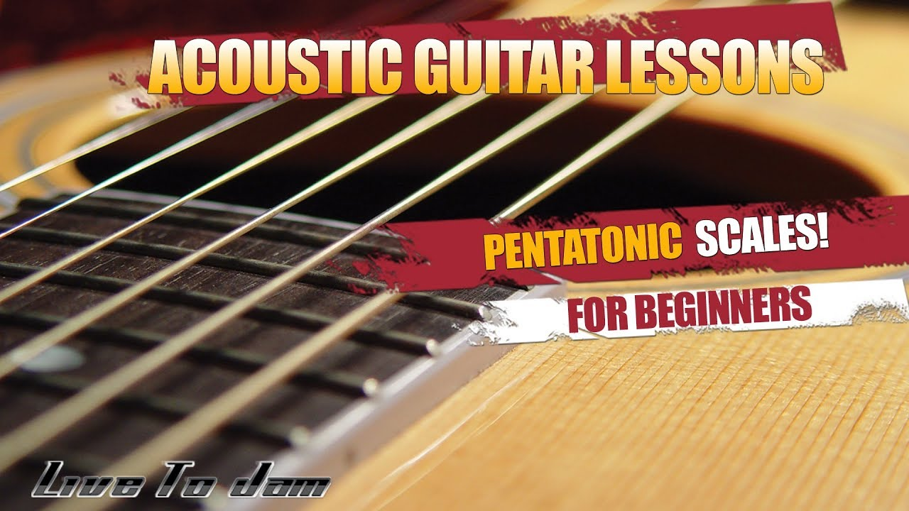 how to play pentatonic scales on guitar for beginners electric or acoustic youtube. Black Bedroom Furniture Sets. Home Design Ideas