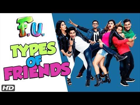 Types of Friends  FU Friendship Unlimited Marathi Film 2017  Akash Thosar friends