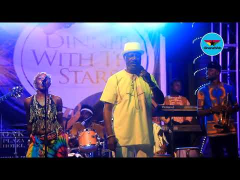 Gyedu-Blay Ambolley performs 'African Woman' at 'Dinner With The Stars'