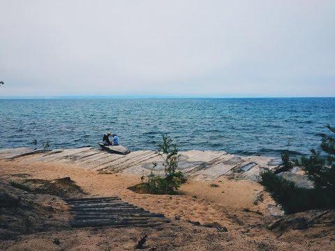 Road trip to Munising Michigan