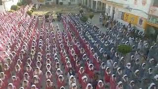 Morning prayer to god at government schools in Amritsar