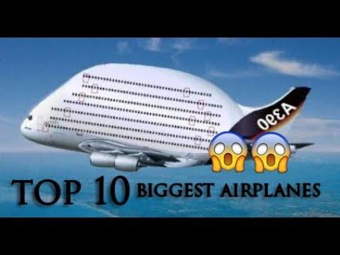 Top 10 plus gros avions du monde vue de pres youtube - Quel est le plus grand porte avion du monde ...