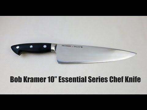 "Bob Kramer Essential Series 10"" Chef Knife Review"