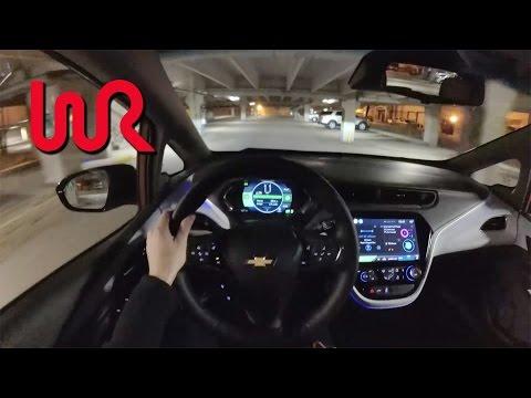 2017 Chevrolet Bolt EV - POV Night Drive (Binaural Audio)