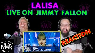 LISA- LALISA (TV Debut) | The Tonight Show Starring Jimmy Fallon **Reaction**