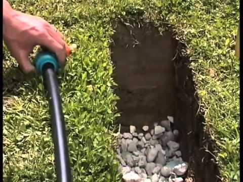 Installing An Underground Lawn Irrigation System Youtube