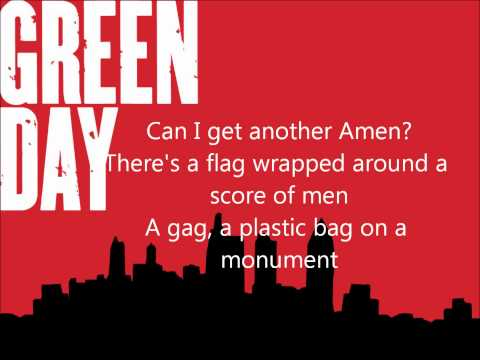 Green Day - Holiday Lyrics
