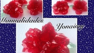 Repeat youtube video ROSAS  HECHAS   CON BOTELLAS DE AGUA RECICLADAS.- ROSES MADE FROM RECYCLED BOTTLES.