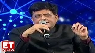 Railway Minister Piyush Goyal speaks on transformation of the railway sector at ET Awards 2018