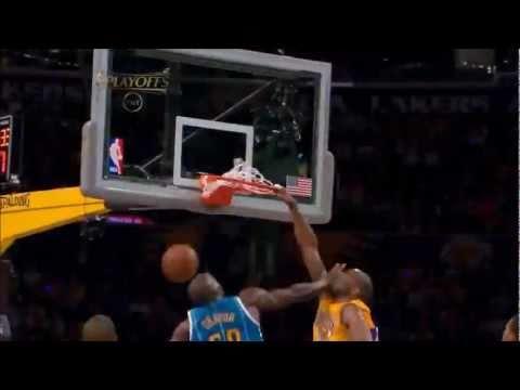 Kobe Bryant Posterizes Emeka Okafor