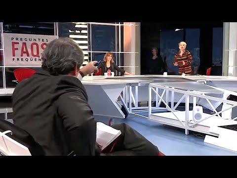 Rahola Y Karmele En El FAQS: Alta Tensió Por El Chat Golpista