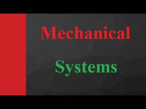 Mechanical systems basics, types and parameters in Control system Engineering by Engineering Funda