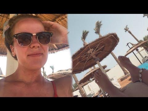ERGSTE VLUCHT OOIT! ❥ EGYPTE VLOG #20 | Janette